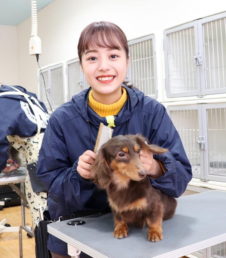 九州スクール・オブ・ビジネス/動物看護学科、岡部さん